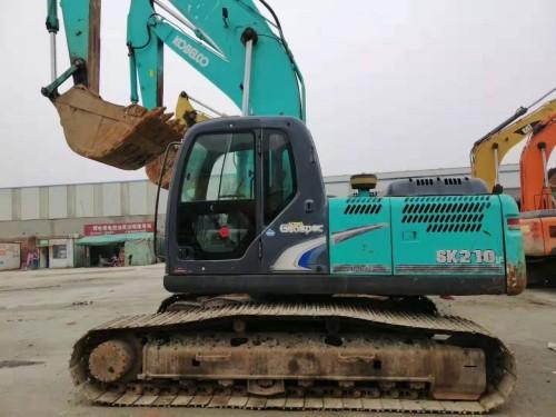 武汉二手挖掘机市场,转让二手神钢210、260和350挖掘机,支持分期付款