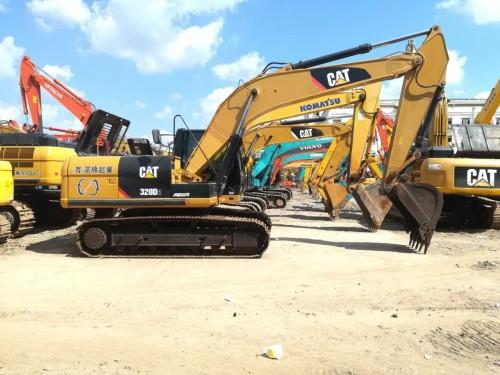 福建二手挖机市场出售二手卡特320D、323D、336D挖掘机,原装进口手续齐全