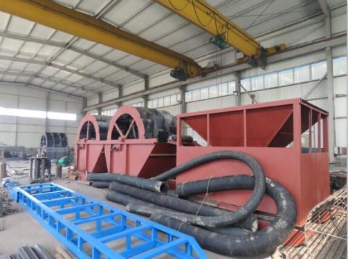 供应水轮洗沙机及各种制砂设备