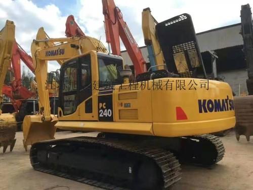 拉萨出售原装精品小松200、220、240、270和360等二手挖掘机