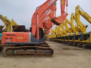 杭州周边,低价转让二手日立、卡特彼勒和三一重工挖掘机,包运可分期