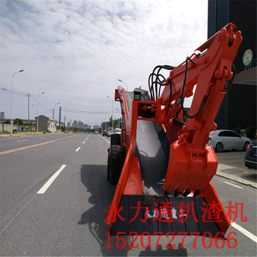供应永力通ZWY120扒装机  大型隧道涵洞轮胎扒渣机
