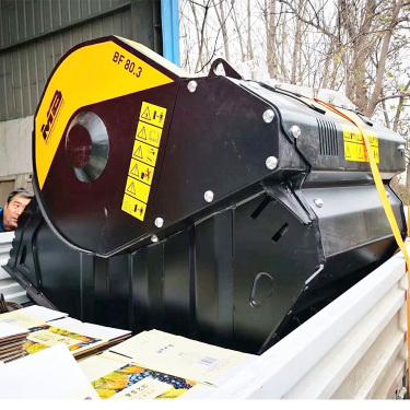 节能高效环保型挖机破碎斗 挖掘机液压动力破碎斗 旋转式破碎筛分斗 厂家报价
