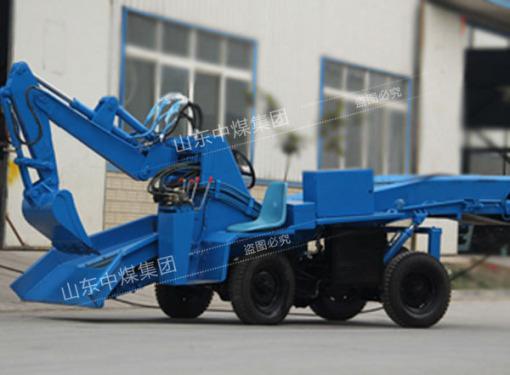 供应中煤ZWY-80扒装机矿用轮式扒渣机防爆型履带扒渣机