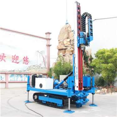 供应恒旺工矿MLD-150D型履带锚固钻机 护坡支护锚杆钻机