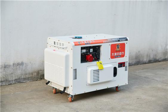 10kw静音柴油发电机设备
