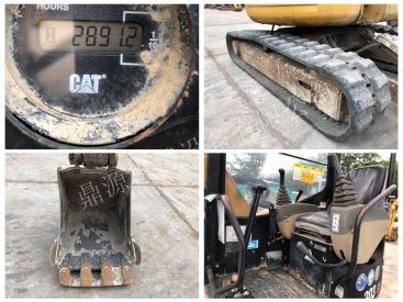 全国包邮出售2千多小时的二手卡特小挖机  九成新的小钩机