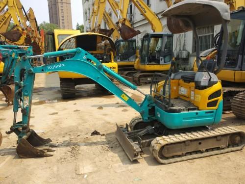 出售二手久保田15-18-20小型微型挖掘机