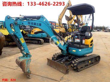 急售出售二手久保田U-17挖掘机 挖机租赁用小挖机