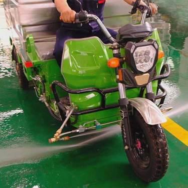 出租远达环保三轮高压清洗车郑州区域厂家直赁