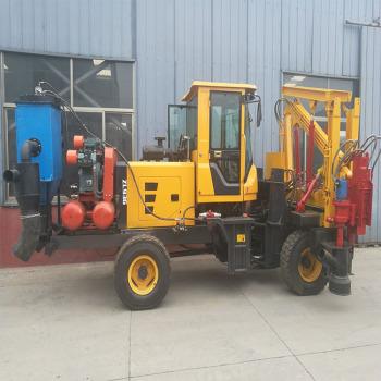 大连供应zl936打桩机 园林护栏打桩机 打桩机器