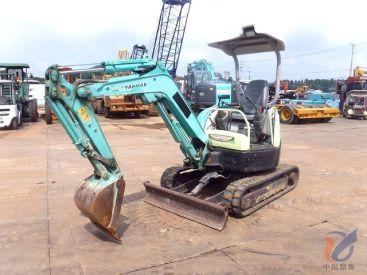 出售二手洋马VIO20-3小挖掘机 日本原装进口二手小挖掘机 无翻新