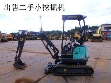 出售二手加藤17VX3小挖掘机