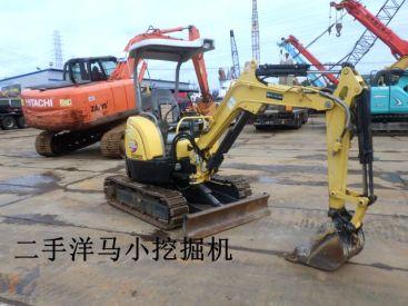 上海/济宁/潍坊/山东出售二手加藤17VX3小挖掘机 橡胶履带/带伸缩