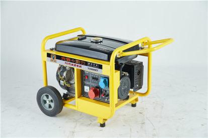 8kw汽油发电机单位用