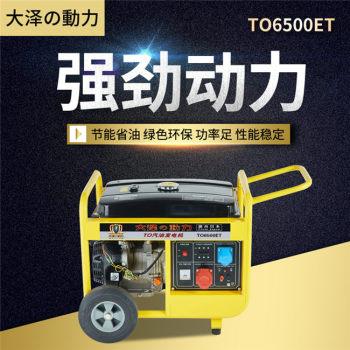 大泽动力6kw汽油发电机