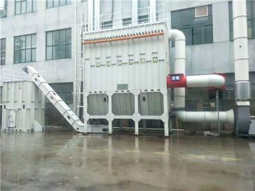 大型环保设备中央除尘设备粉尘处理设备汽车烤漆房伟航专业制造
