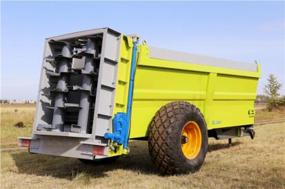 厂家直销大型高效12立方有机肥撒粪机  牛羊粪抛粪车 有机肥撒肥车