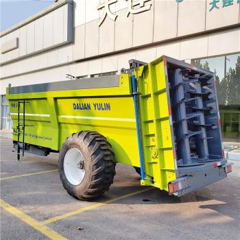 厂家直销大型高效12立方有机肥撒粪机  牛羊粪抛粪车