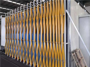 环保设备移动伸缩房移动喷烤房特点及作用原理大型环保烤漆房