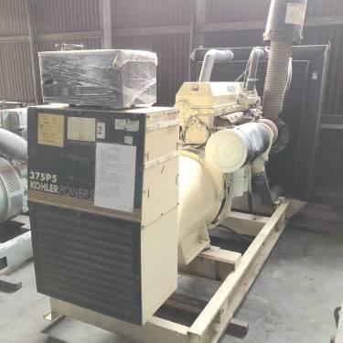 出售二手科勒底特律300kw发电机(组) 原装进口底特律发电机