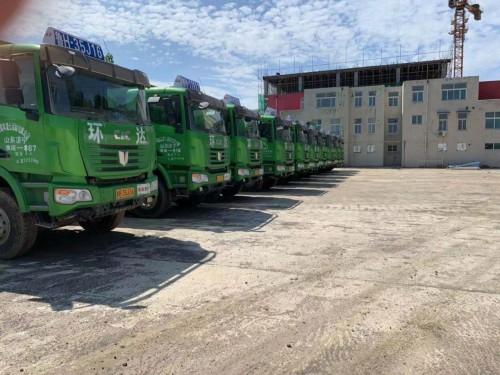 货车出租中国重汽2座渣土车工程车