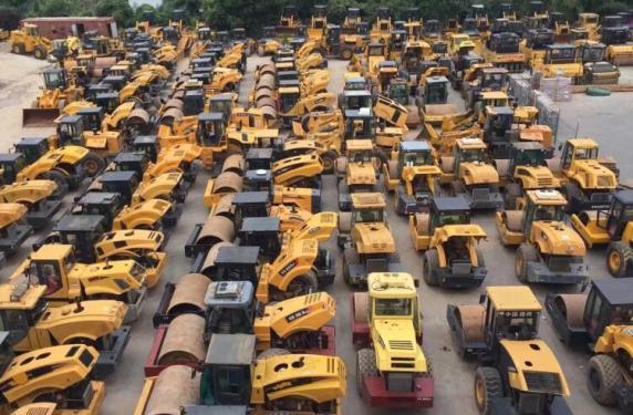 个人二手振动 双钢轮 胶轮 铁三轮 双驱压路机 福州/厦门/莆田/三明二手压路机市场
