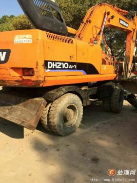 轮式二手挖掘机多少钱一台