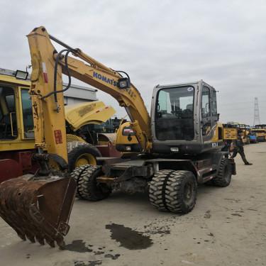 二手轮式挖掘机报价-上海二手挖掘机市场