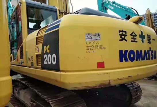 出售二手小松200-8挖掘机