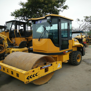 北京出售6吨8吨二手压路机-徐工二手双钢轮压路机
