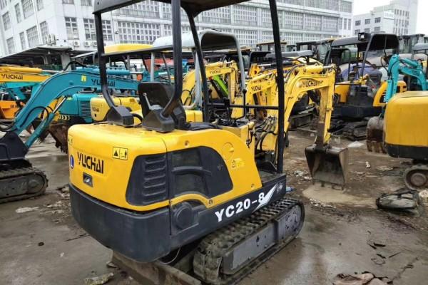 上海二手挖掘機市場 二手13 20 25 35挖掘機 國產|進口|合資二手微型挖掘機