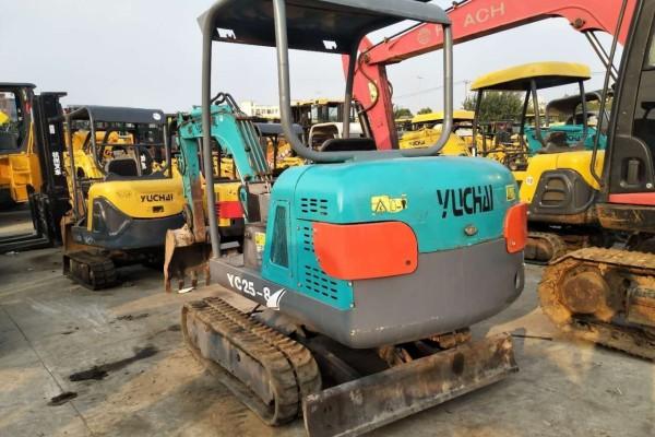 上海二手挖掘機市場 出售13|15|18|20|25|35二手微型挖掘機