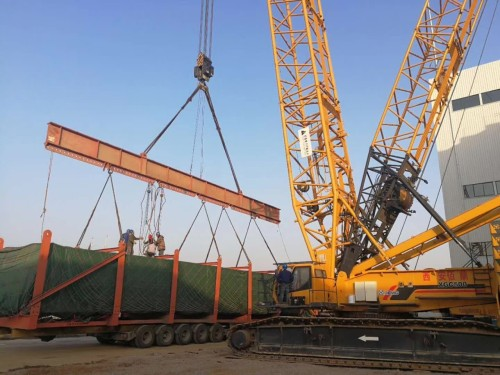 出租扬州徐工55吨履带吊