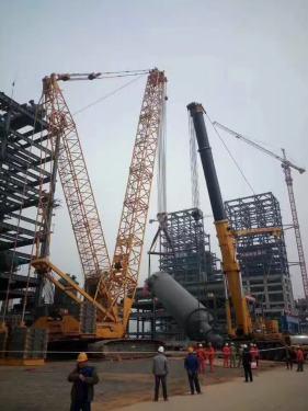 出租南京徐工55吨履带吊