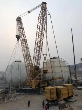 出租泰州徐工100吨履带吊