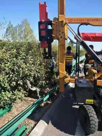 供应徐州盖力护栏打桩机GL360液压锤