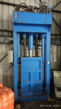 惠州专业维修冷热压机丨四柱机维修丨废纸废铁打包机漏油维修