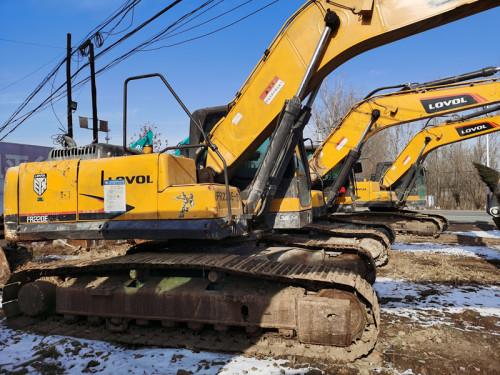 出售二手雷沃220E挖掘机