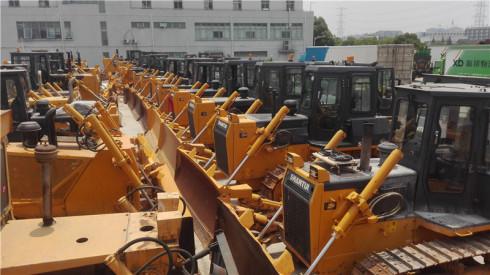 上海二手推土机交易市场  出售二手山推160-220-320推土机