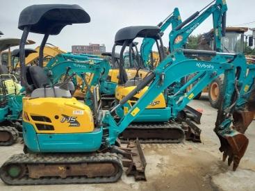 上海二手小型挖掘机市场||出售二手小松15-20-35挖掘机