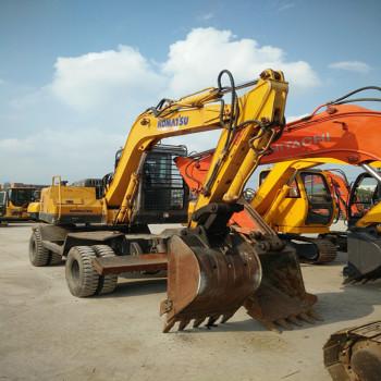 低价出售斗山、小松70、130轮式二手挖掘机