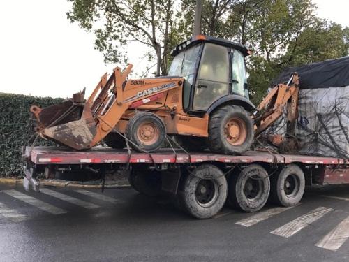 出售二手凯斯580M2挖掘装载机