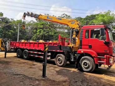 供应徐工随车吊德龙前四后八4轴徐工14吨G型臂5节臂新款随车吊