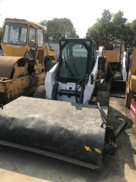 出售二手山猫S300滑移装载机