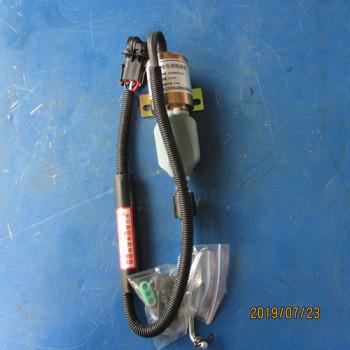徐工LW300FN装载机潍柴发动机配件熄火电磁阀13026697(24V)