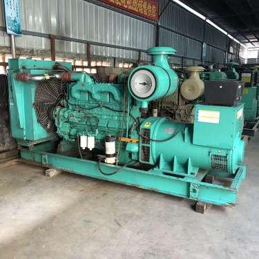 康明斯二手柴油发电机组破碎机用原装现货 卖二手发电机