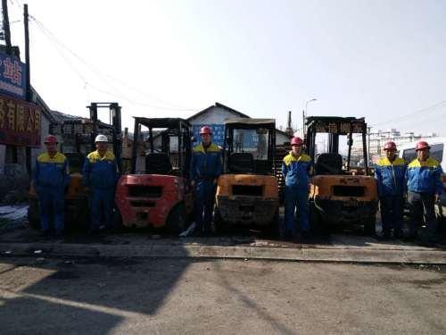 吉林市叉车出租10吨叉车3吨叉车 设备搬运
