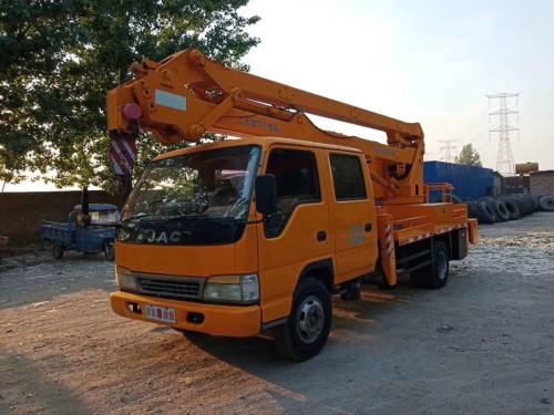 出售二手杭州爱知18米折叠高空作业车
