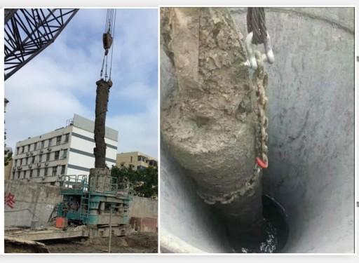 拔桩清障上海水泥预制方桩拔除地下障碍物清障